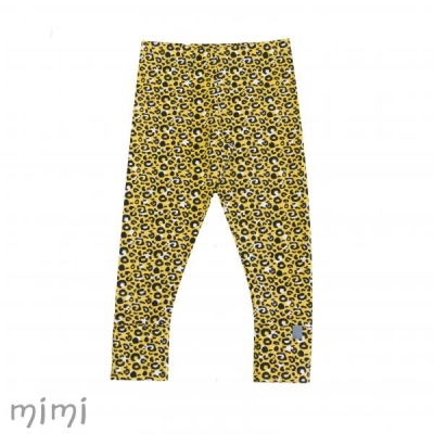 Leggings NORD Leopard Yellow