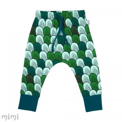 Pants SUTTON Pokud Green