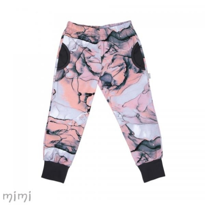 Pants ARDEN Pink Marble