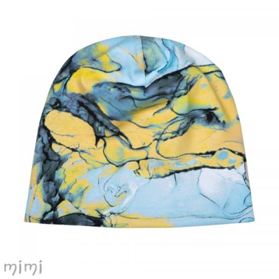 Beanie ALF Sinine Marble Furry Fleece