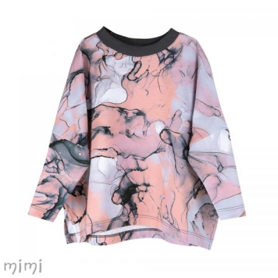 Blouse HETHER Pink Marble