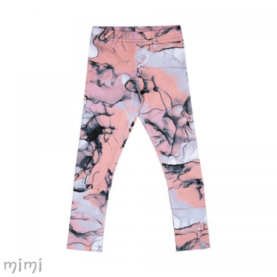 Leggings NORD Pink Marble