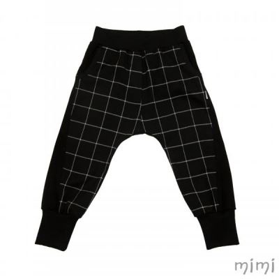 Baggy Pants REBEL Black Square