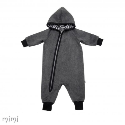 Jumpsuit BOO Woolen Dark Grey