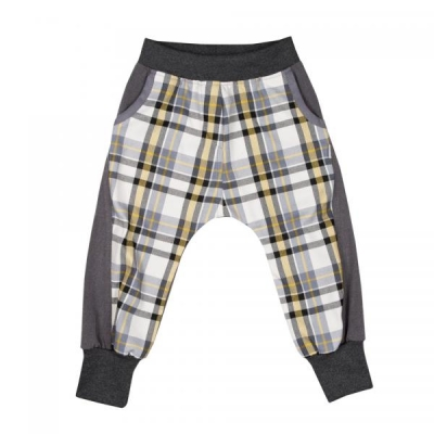 Baggy Pants REBEL Grey Checked