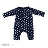 Mimi Baby Romper Black White Dot