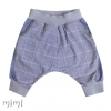 Knee Baggies MORGAN Blue Plaid