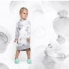 Dress LILI Grey Splash