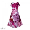 Women's Dress HETA Lava Colour Pink