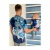 Men's T-Shirt LEIF Lava Colour Blue