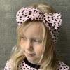 Headband ALLI Dots Pink